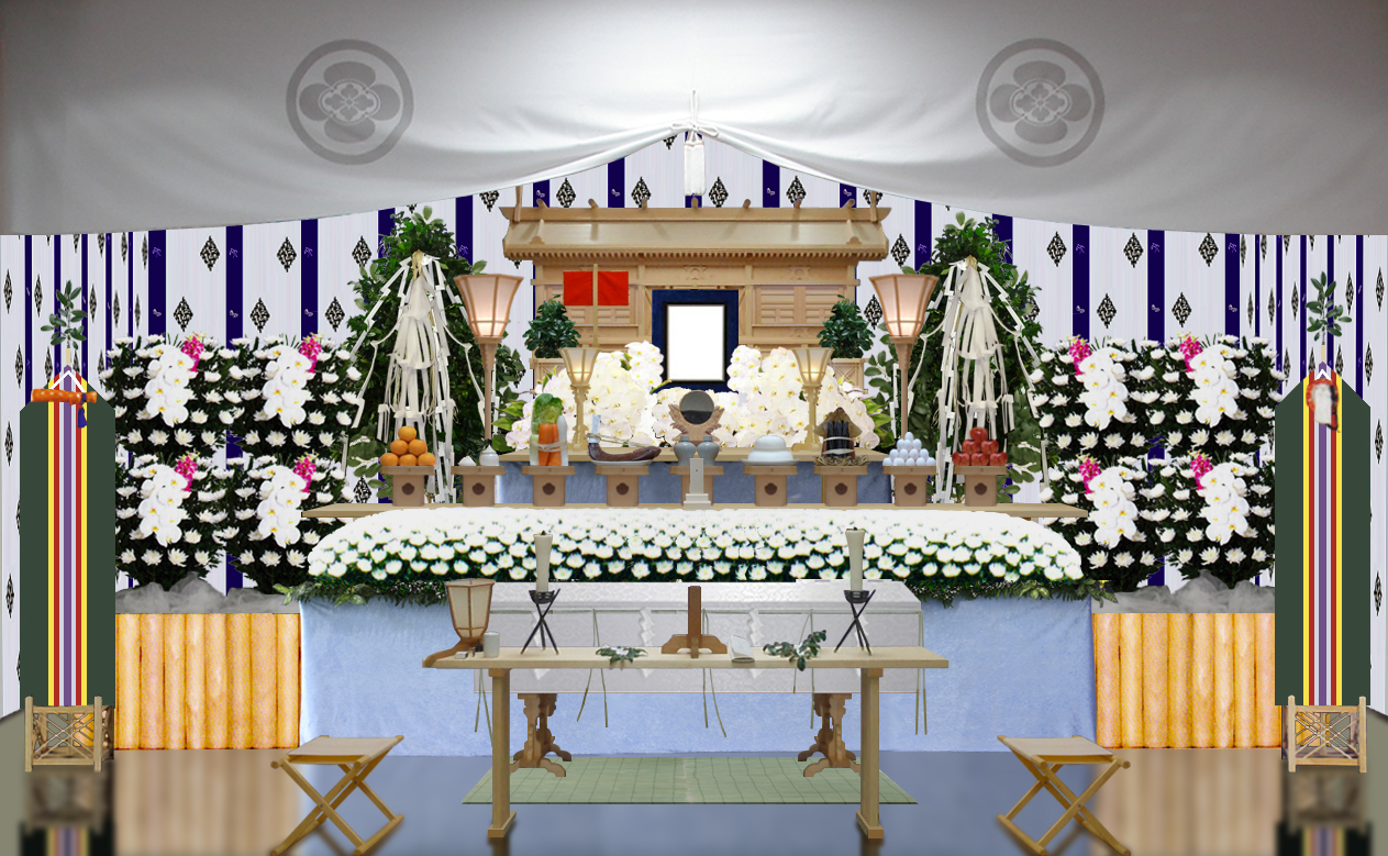 さかき①祭壇